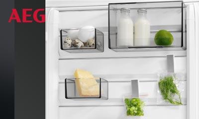 Aeg Kühlschrank Temperatur : Aeg: kühlschrank mit customflex elektrogeräte bebra langheld